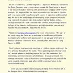The Zolan Company - Press release