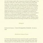 Ferdinand de Saussure - nel centenario della Sua Opera, il Suo Pensiero, 1916 -2016