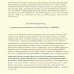 IL BUIO E' PASSEGGERO E LA LUCE E' INFINITA - Relazione Convegno