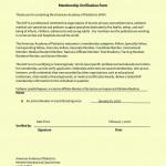 American Academy of Pediatrics - Membership