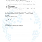 Membership con l'UNESCO Chair Global Health & Education