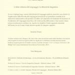 Linguistica Generale A.A. 2020-2021