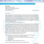 Lettera del Professor Didier Jourdan, Holder dell'UNESCO Chair for Global Health and Education